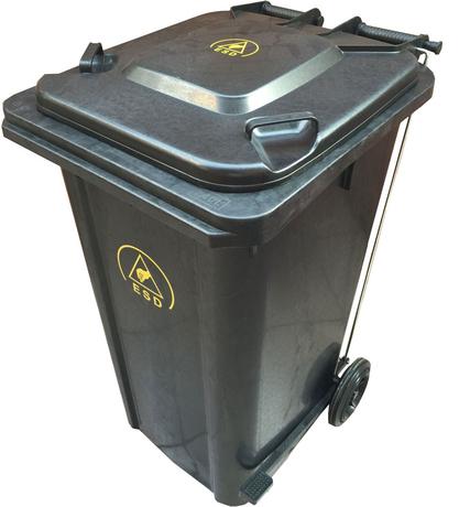 Антистатический контейнер DOKA-C013 для мусора
